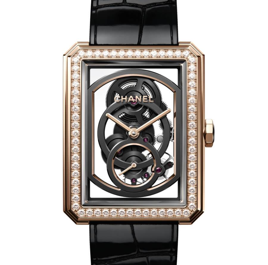 Chanel BOY∙FRIEND Skeleton Watch