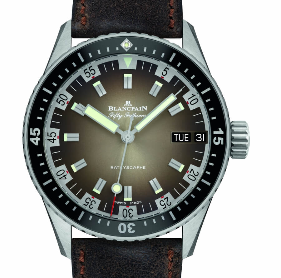 Baselworld 2018 Blancpain Fifty Fathoms Bathyscaphe Day Date 70s