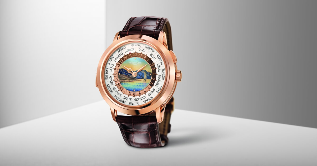 Patek Philippe Ref. 5531R World Time Minute Repeater