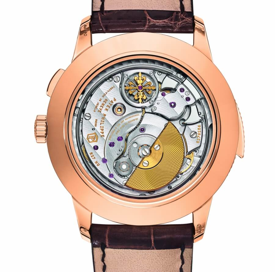 Patek Philippe Ref. 5531R World Time Minute Repeater Case Back