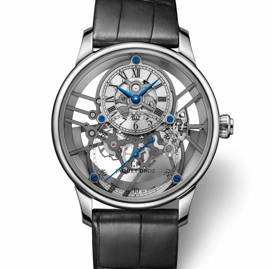 Jaquet Droz Grande Seconde Skelet-One White Gold