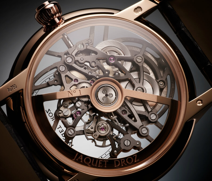 Jaquet Droz 2663 SQ Movement