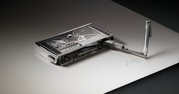 The Signing Machine by Jaquet Droz