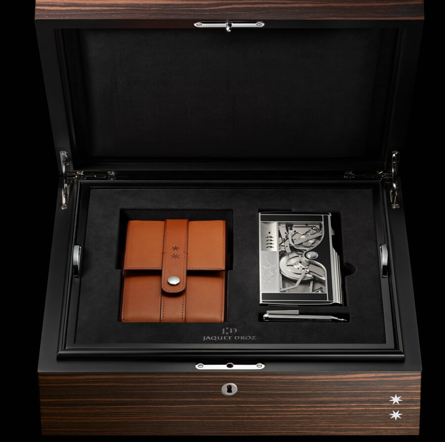 The Signing Machine by Jaquet Droz Presentation Box