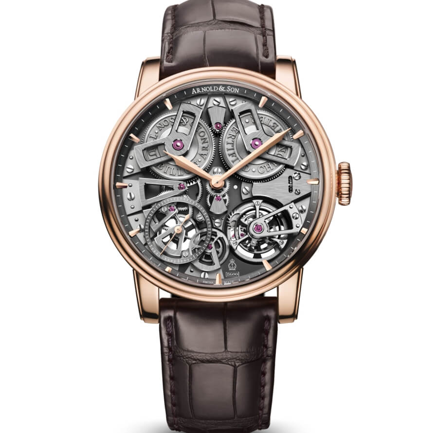 Arnold & Son Tourbillon Chronometer No.36 Rose Gold