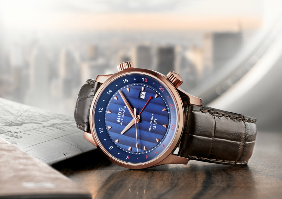 The New Mido Multifort GMT