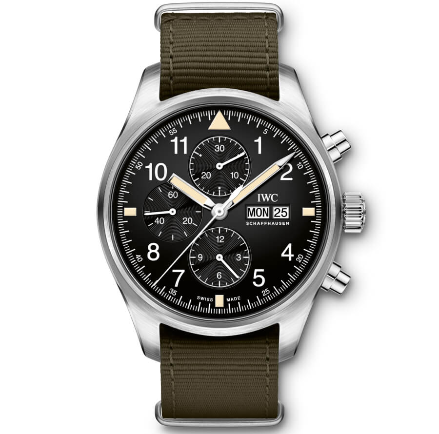 IWC Pilot's Watch Chronograph In The Original Design From 1994