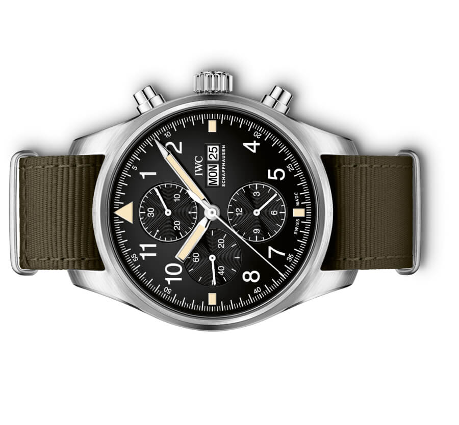 The New IWC Pilot's Watch Chronograph In The Original Design From 1994