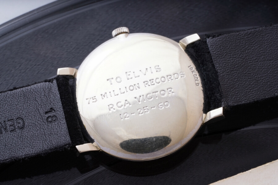Elvis Presley's Omega Wristwatch, Retailed By Tiffany & Co.