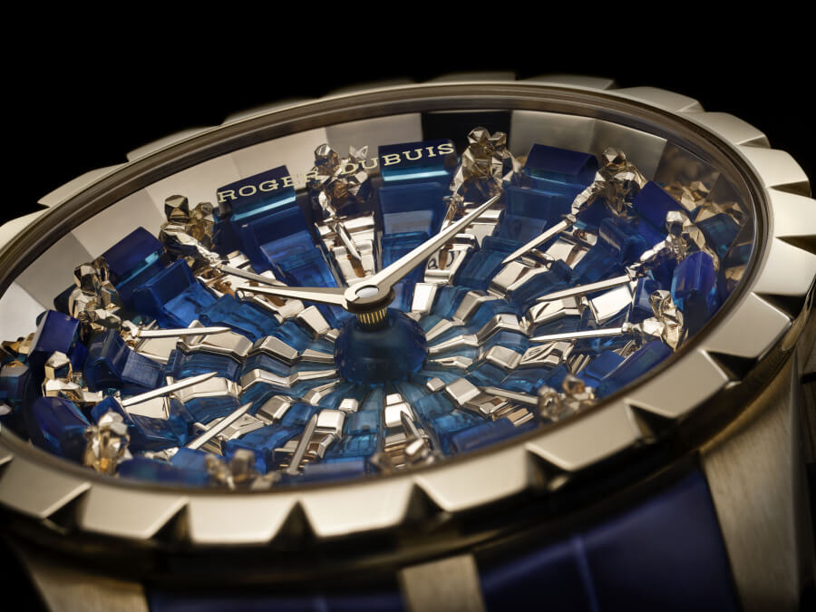 Roger Dubuis Excalibur Knights of the Round Table III Hyperwatch Dial