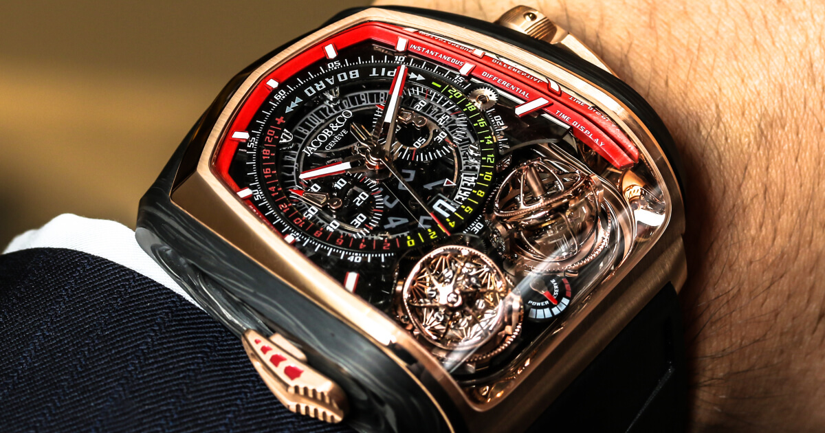 Back To Baselworld 2018: Jacob & Co. Twin Turbo Furious