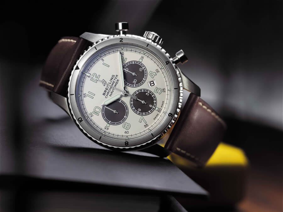 The New Breitiling Navitimer Aviator 8 B01 Chronograph 43 Limited Edition