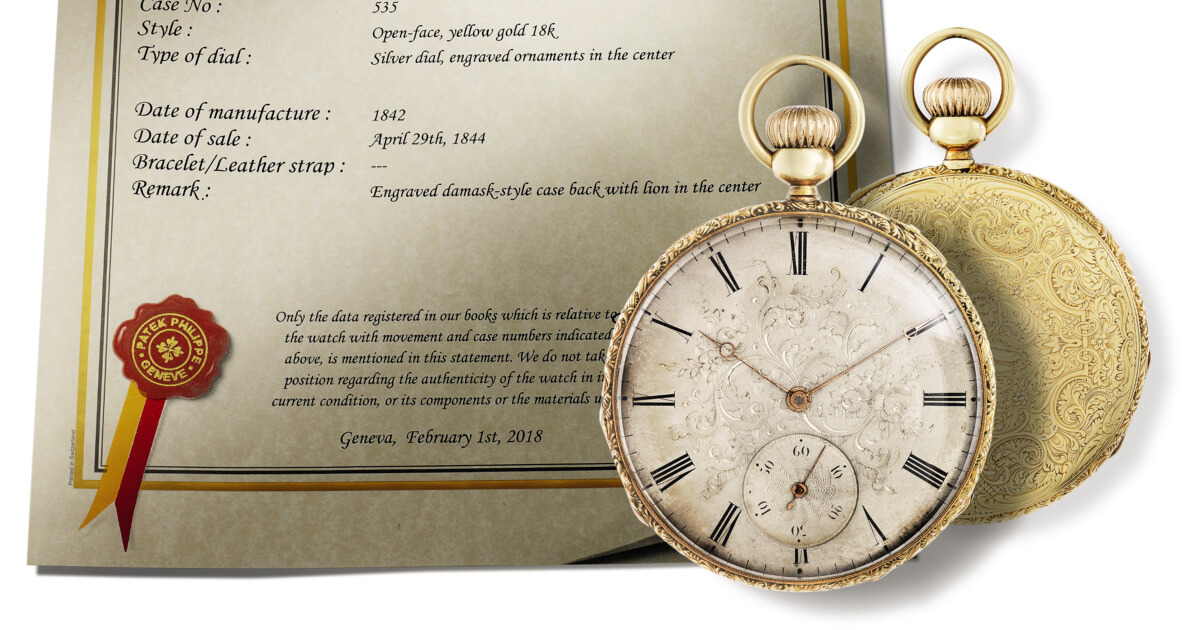 Czapek & Cie Acquires A Milestone Of Its Founder's Earliest History
