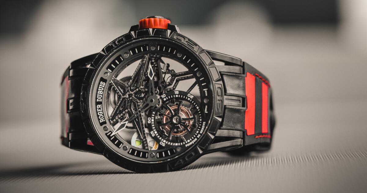 Roger Dubuis Excalibur Spider Pirelli Single Flying Tourbillon