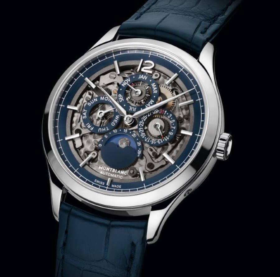 The Montblanc Heritage Chronométrie Perpetual Calendar Sapphire