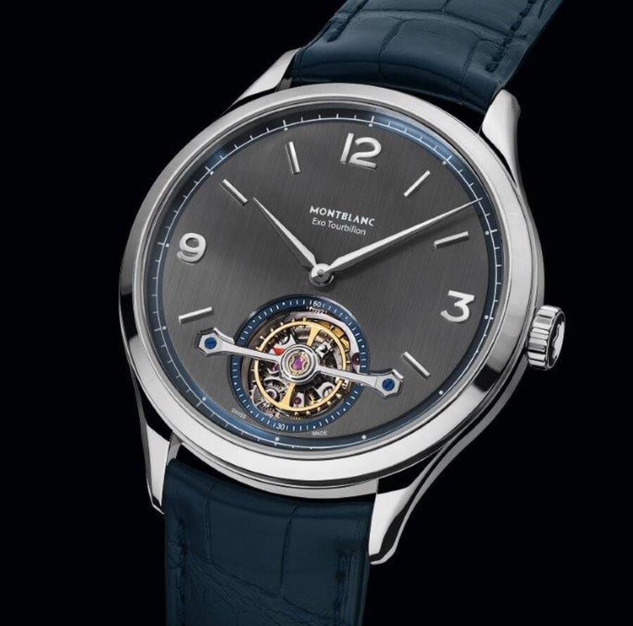 The Montblanc Heritage Chronométrie Exo Tourbillon Slim