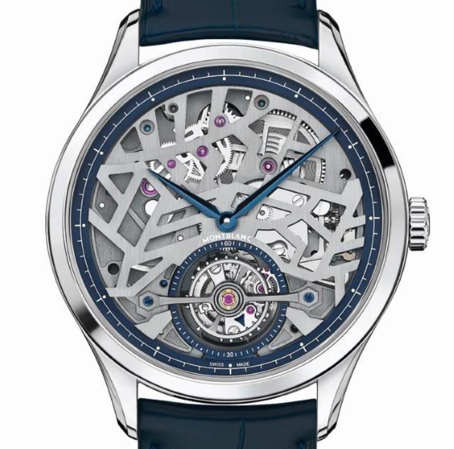 Montblanc Heritage Chronométrie Exo Tourbillon Slim Openworked