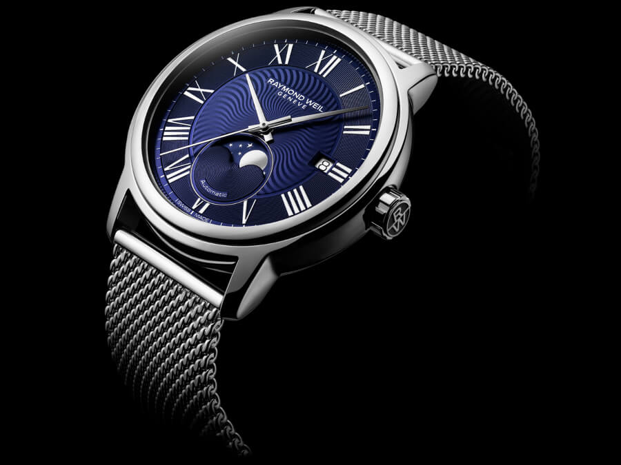 The New Raymond Weil Maestro Moon Phase