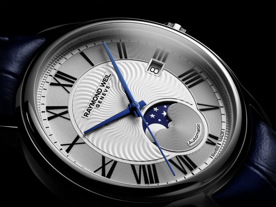 Dress Watch With Moon Phase