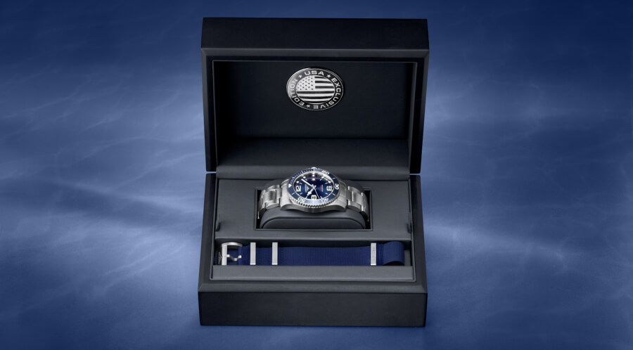Longines USA Exclusive HydroConquest Edition Box