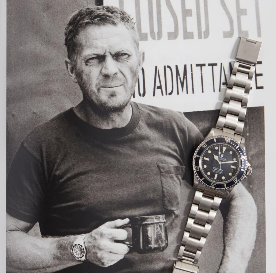 Steve McQueen's Rolex Submariner Wristwatch