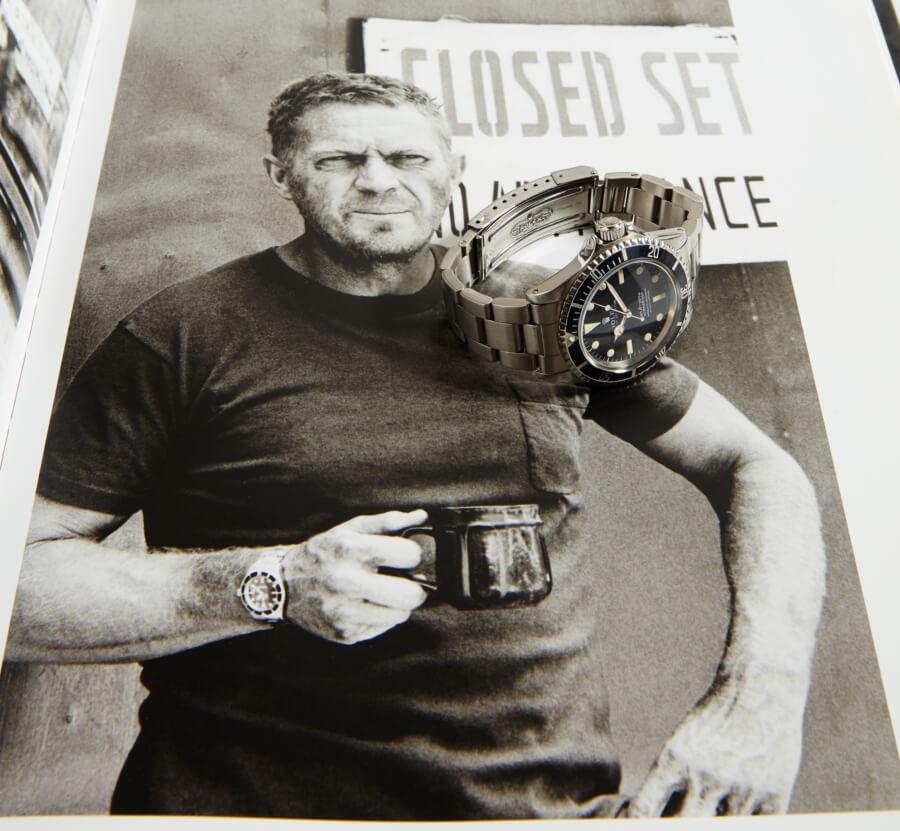 Steve McQueen's Rolex Submariner 5513