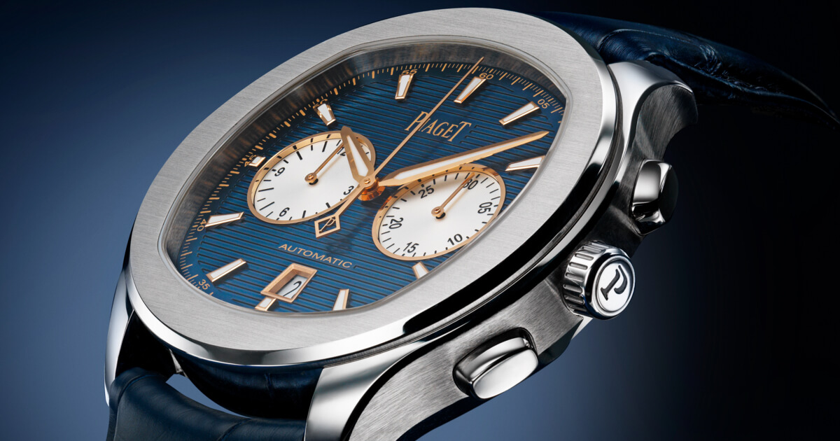 The New Piaget Polo S Bucherer Blue Editions