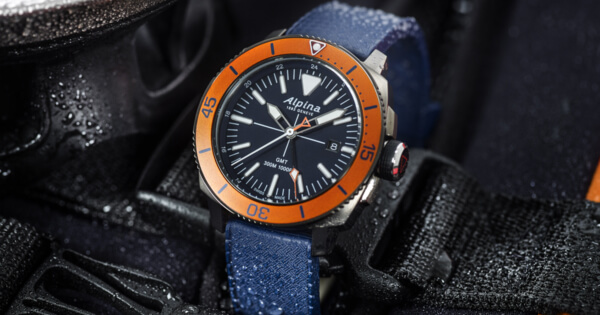 The New Alpina Seastrong Diver GMT