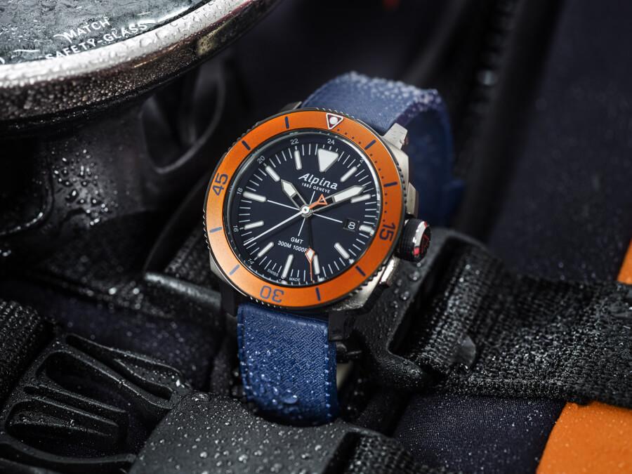 Alpina Seastrong Diver GMT