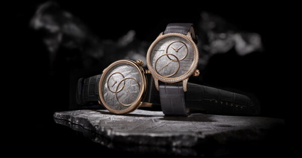 "Jaquet Droz Grande Seconde Off-Centered ""Meteorite"" And ""Stromatolite"""