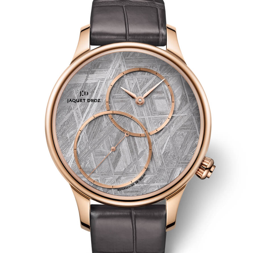 """The new Jaquet Droz Grande Seconde Off-Centered """"Meteorite"""""""