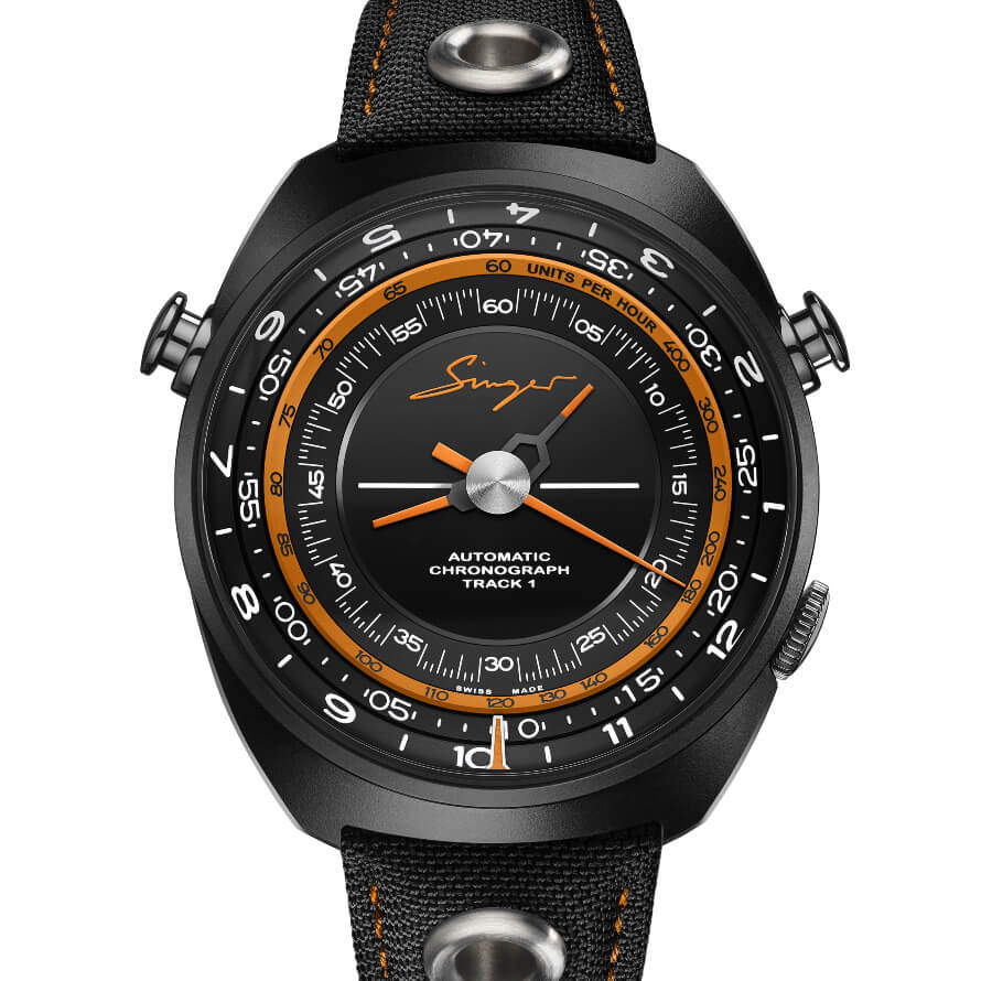 Singer Track1 Hong Kong Edition Watch Review