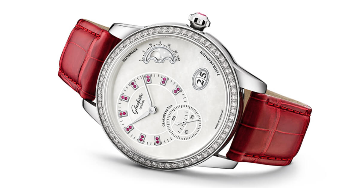 The New Glashütte Original PanoMatic Luna Ladies Watch