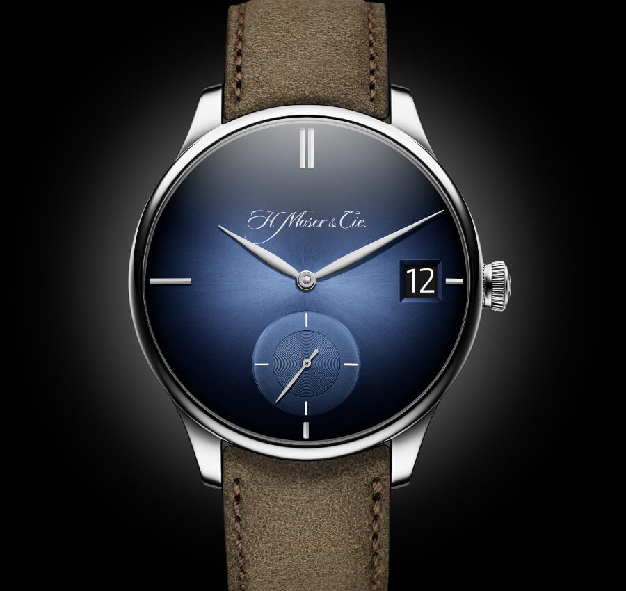 The New H. Moser & Cie. Venturer Big Date Purity