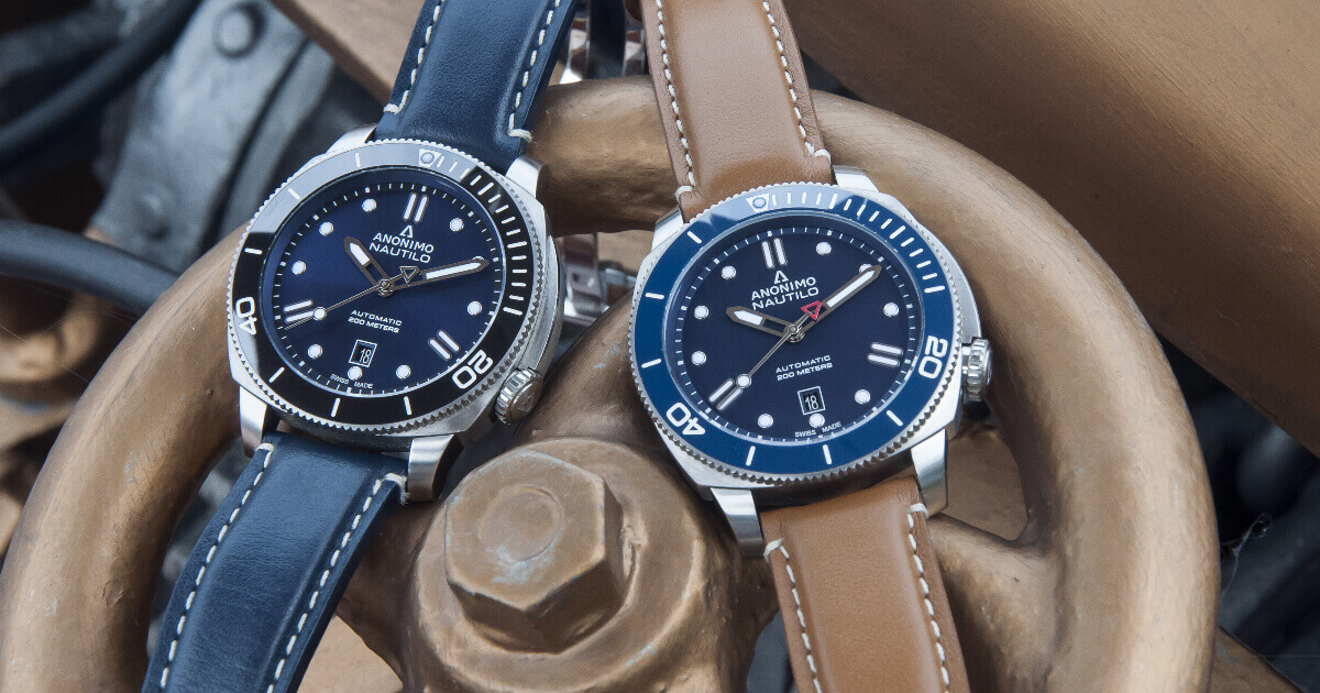 Anonimo Blue Dials For This Summer