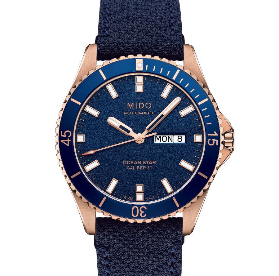 Mido Ocean Star Blue Dial