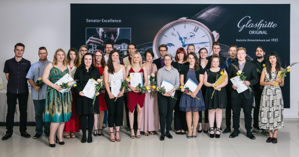 "Watchmakers graduate from Glashütte Original's ""Alfred Helwig"" School of Watchmaking"