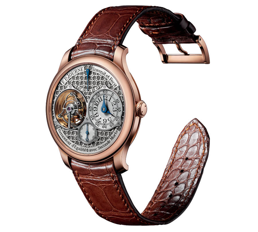 The New F.P. Journe Tourbillon Souverain with Régence Circulaire hand-engraved dial