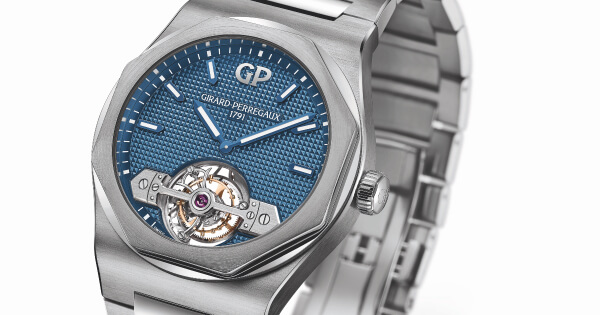 The New Girard-Perregaux Laureato Tourbillon