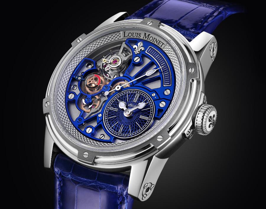 Louis Moinet Tempograph Chrome Watch Review