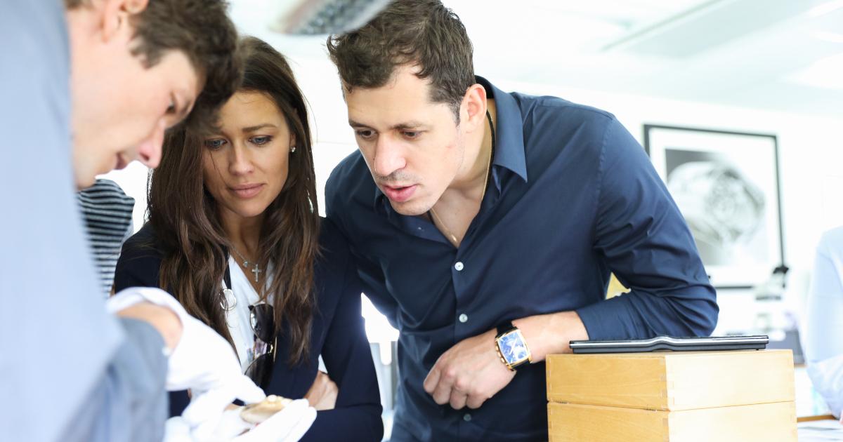 Parmigiani Fleurier, new Friends of the Brand –Evgeniy Malkin and Anna Kasterova