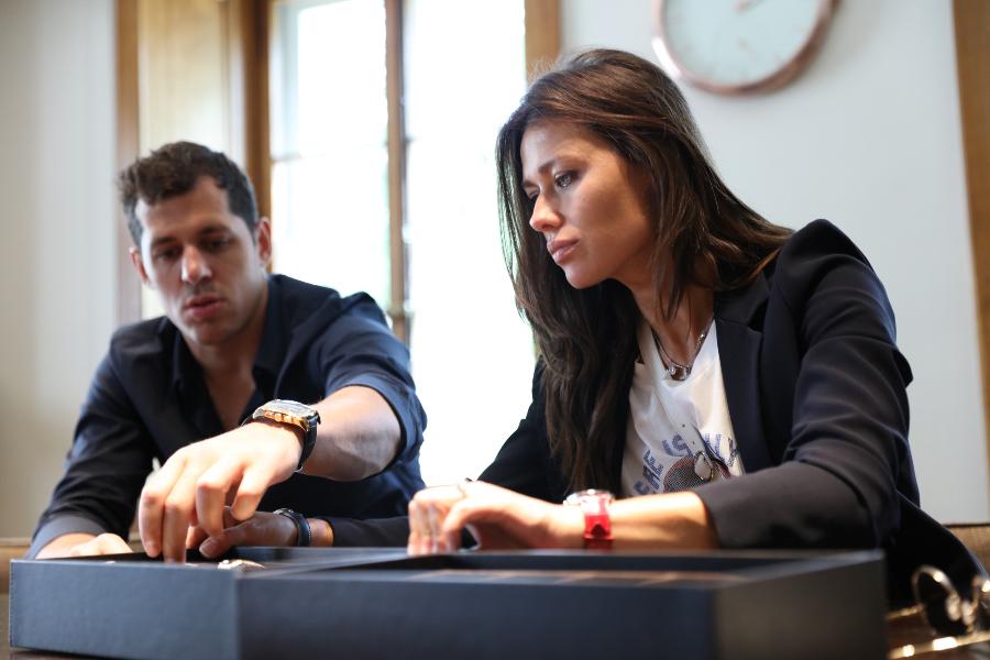 Evgeniy Malkin and Anna Kasterova Wrist Watch