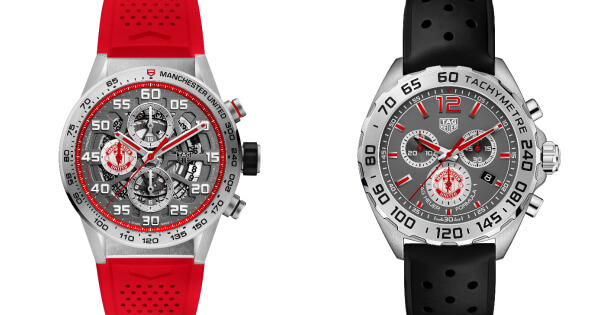 TAG Heuer Unveils The New Manchester United Special Editions