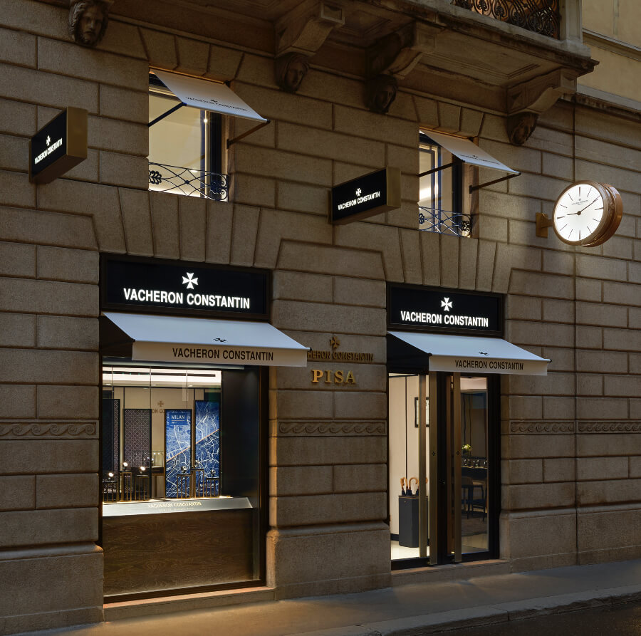 Vacheron Constantin Boutique In Milan Directions