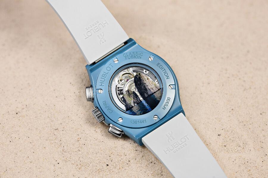 Hublot Classic Fusion Aerofusion Chronograph Capri Case Back
