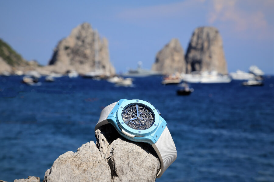 Hublot Classic Fusion Aerofusion Chronograph Capri Watch Review