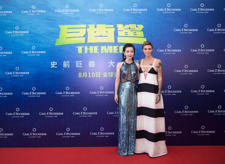 Li Bingbing and Ruby Rose