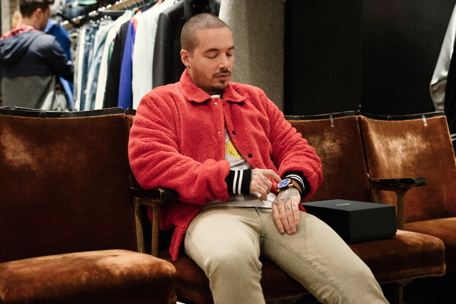J Balvin and Tag Heuer