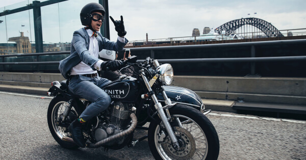 Zenith gears up for the 2018 Distinguished Gentleman's Ride