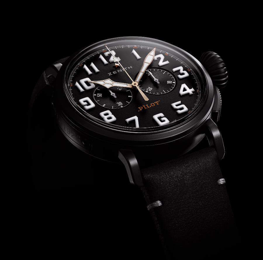 Zenith Pilot Type 20 Chronograph Ton Up Black Watch Review